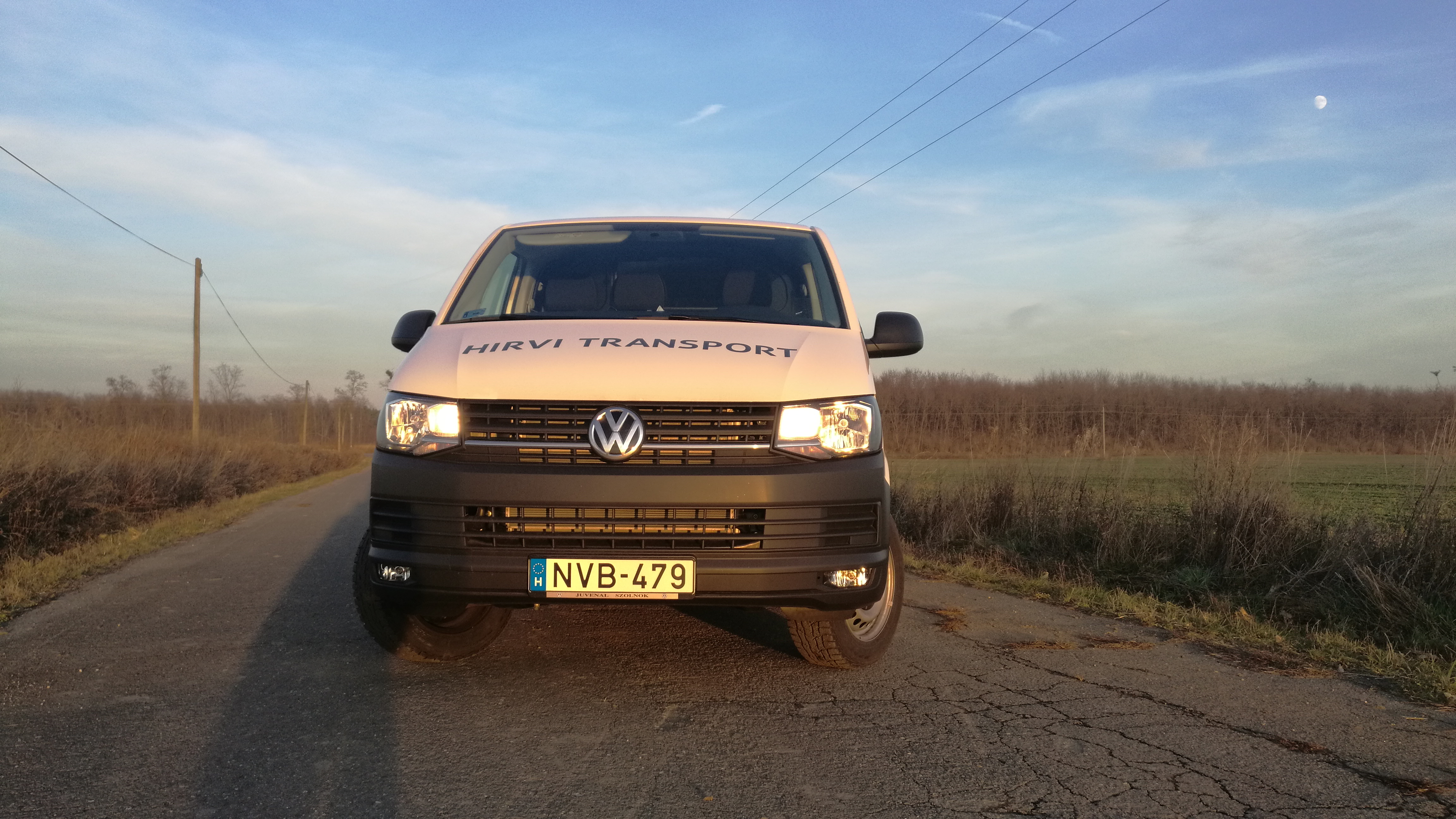 New VW Transporter