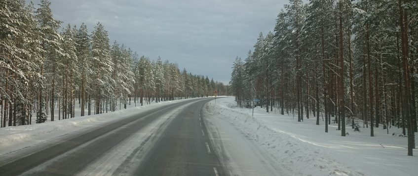 Bigger safety on winter roads