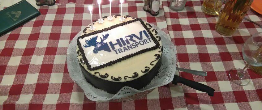 The 4th birthday of HIRVI Transport Kft